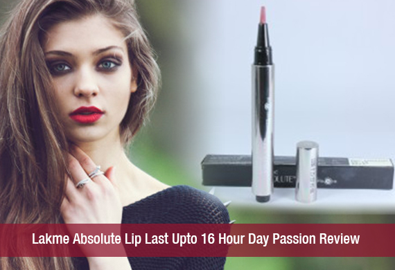 Lakme Absolute Lip Last Upto 16 Hour Day Passion Review