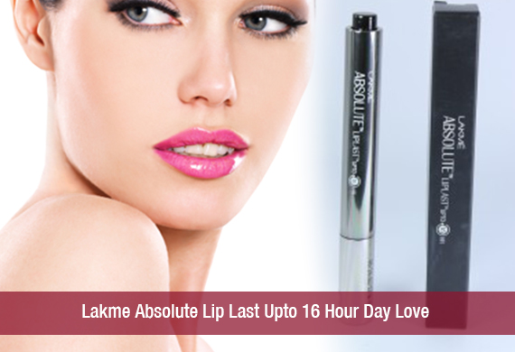 Lakme Absolute Lip Last Upto 16 Hour Day Love