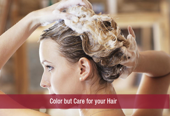 Color but Care for your Hair