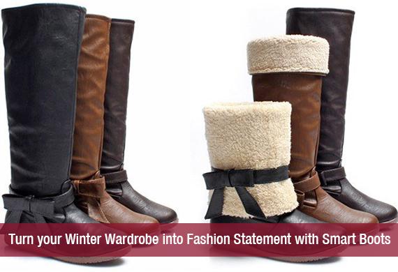 Smart Boots for Winter Wardrobe!!!