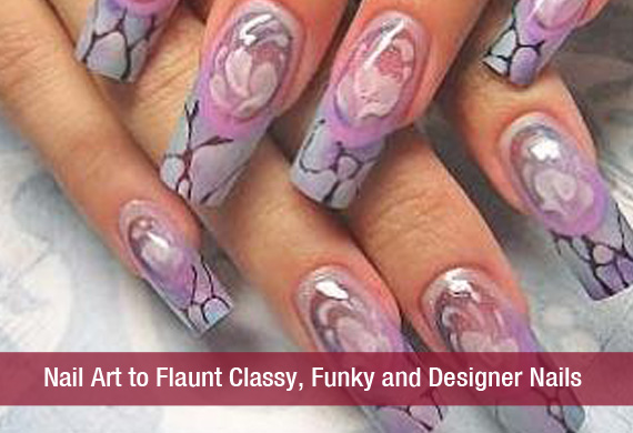 Nail Art to Flaunt Classy, Funky and Designer Nails