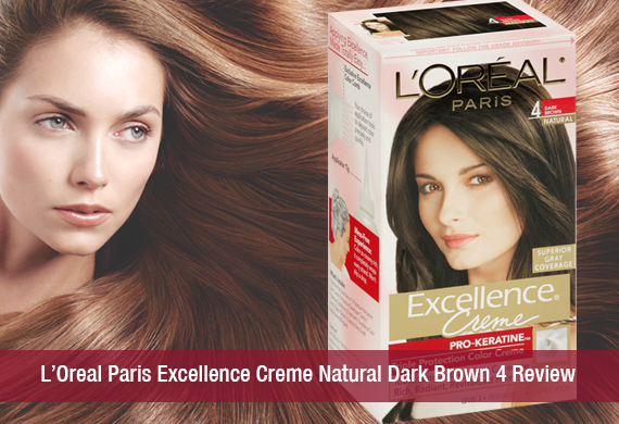 L'Oreal Paris Excellence Creme Natural Dark Brown 4 Review