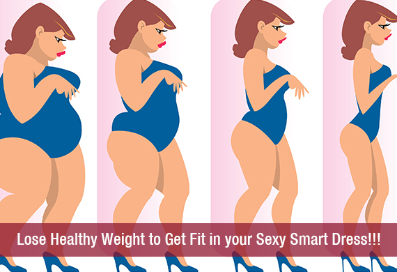 Lose Healthy Weight to Get Fit in your Sexy Smart Dress!!!