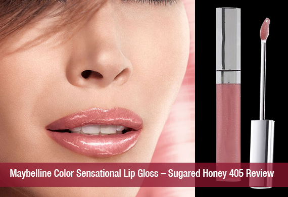 Maybelline Color Sensational Lip Gloss – Sugared Honey 405 Review