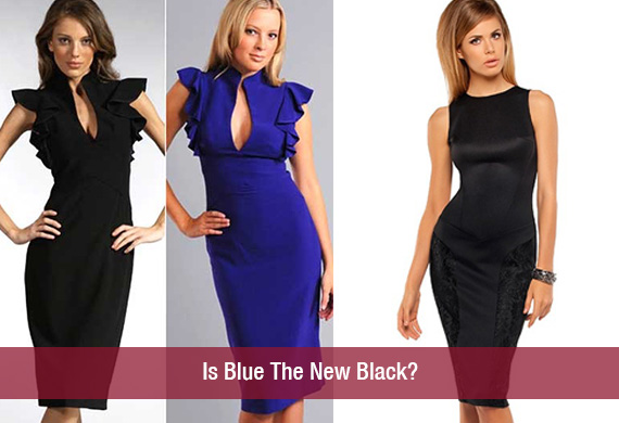 Is Blue The New Black?