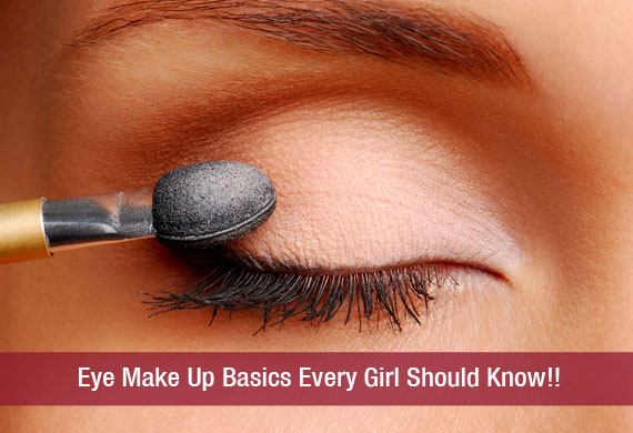 Eye Make Up Basics Every Girl Should Know!!