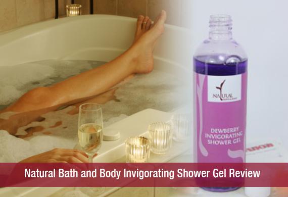 Natural Bath and Body Invigorating Shower Gel Review
