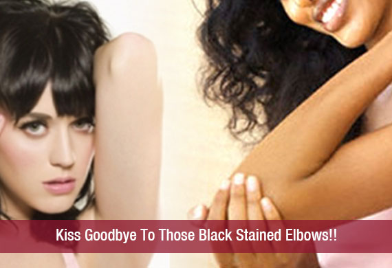 Kiss Goodbye To Those Black Stained Elbows!!