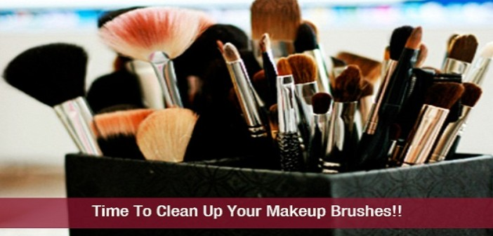 Time To Clean Up Your Makeup Brushes!!