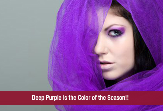 Deep Purple is the Color of the Season!!