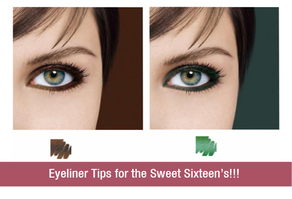 Eyeliner Tips for the Sweet Sixteen's!!