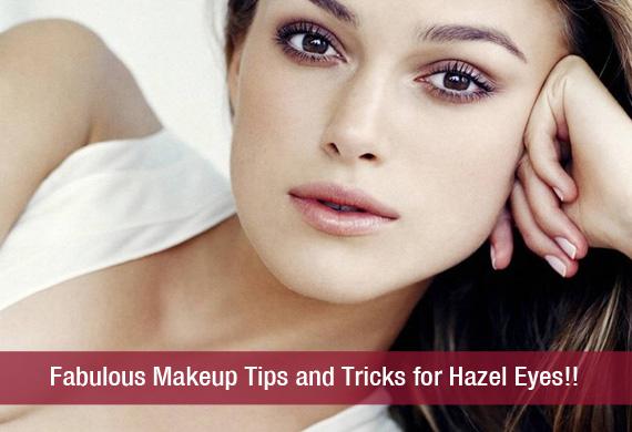 Eye makeup tricks for hazel eyes