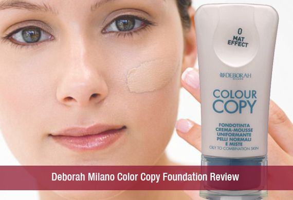 Deborah Milano Color Copy Foundation Review