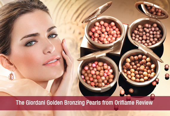The Giordani Golden Bronzing Pearls From Oriflame