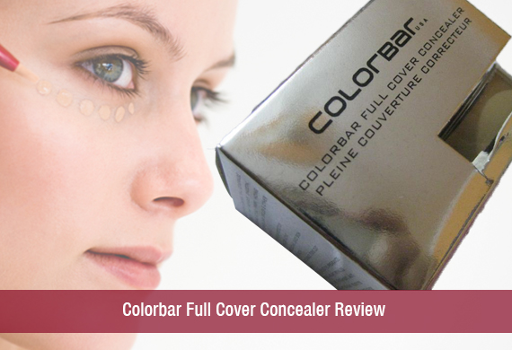 Colorbar Full Cover Concealer Review