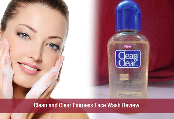 Clean and Clear Fairness Face Wash Review