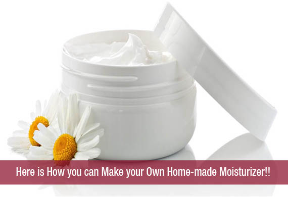 Here Is How You Can Make Your Own Home Made Moisturizer