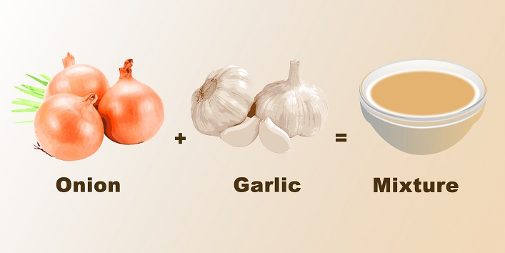 mixture-of-onion-and-garlic-juice