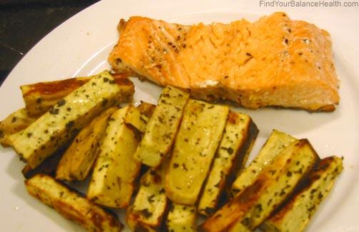 salmonfries