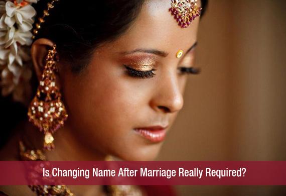 Name change wedding