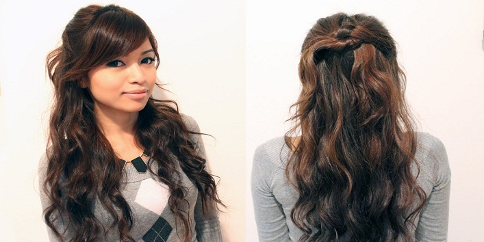 hairstyles for indo-western Outfits7 Image Source: - 8 Hairstyles For Indo-Western Outfitskhoobsurati