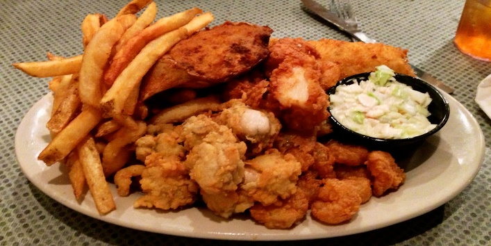 fry food