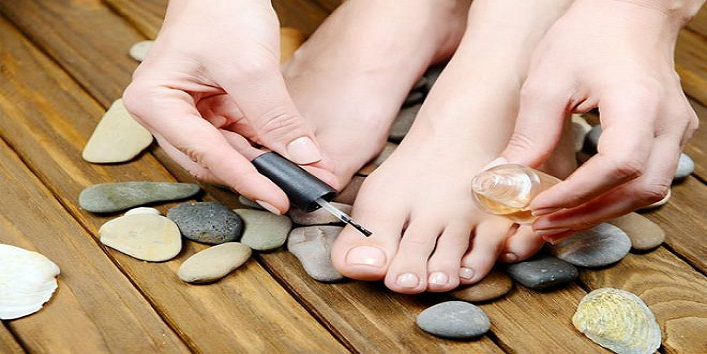 Pedicure at home9