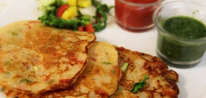 Healthy And Tasty Recipe For Kids- Bread Uttapam