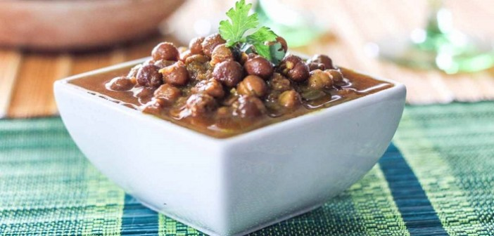 How to make: Healthy and Tasty Kala Chana Curry