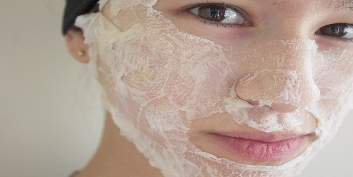 how to make a peel of mask