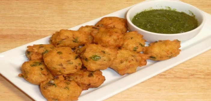 Moong Dal Bhajiya (Pakora) Recipe