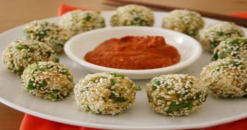 Honey Rice Balls