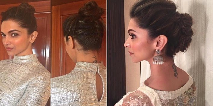 How to make deepikas messy bun and priyankas waves how to make deepikas messy bun and priyankas waves hairstyle urmus Gallery