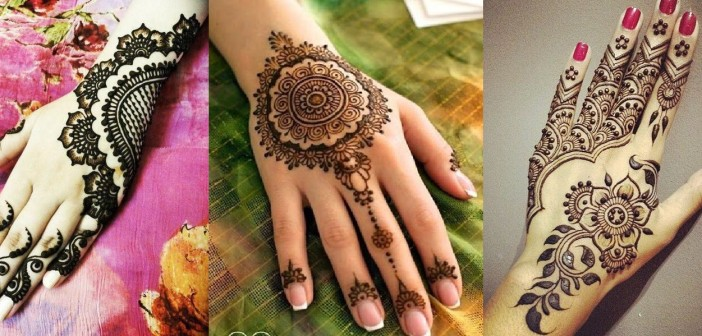 7 Floral Mehndi Designs for Beginners