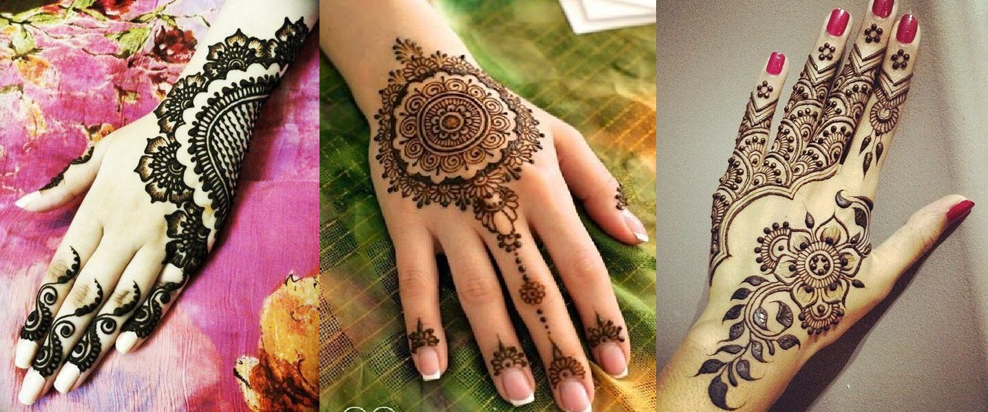 7 Floral Mehndi Designs for Beginners