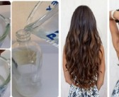 DIY Hairspray for Dry and Frizzy Hair