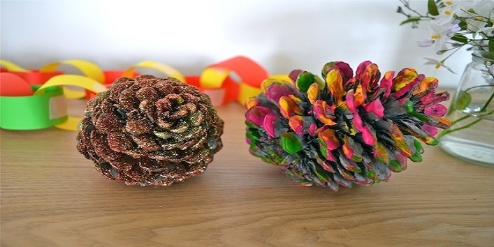 Pine Cone Christmas Decorations Indesignartsandcrafts
