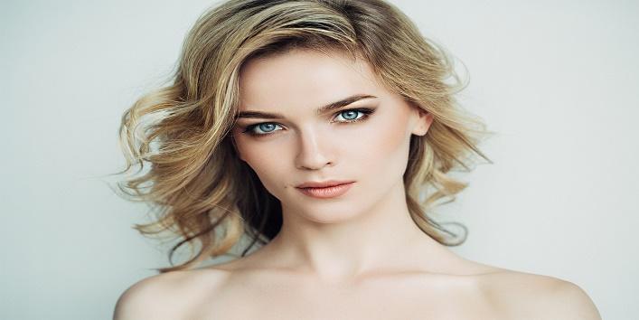 Beautiful woman with make-up