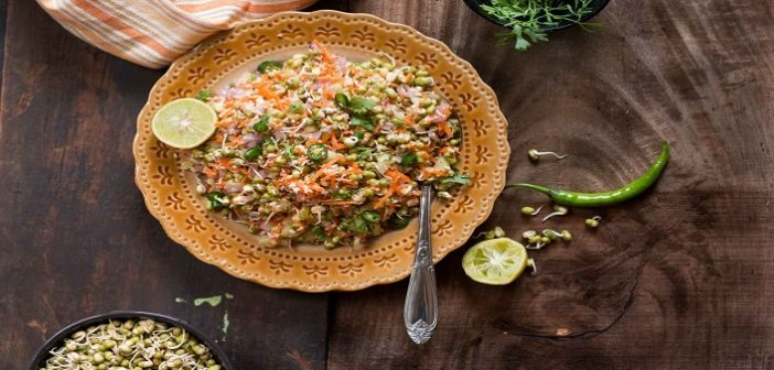 Quick Recipe: Yummy Moong Dal Sprouts Chaat Snack For Kids