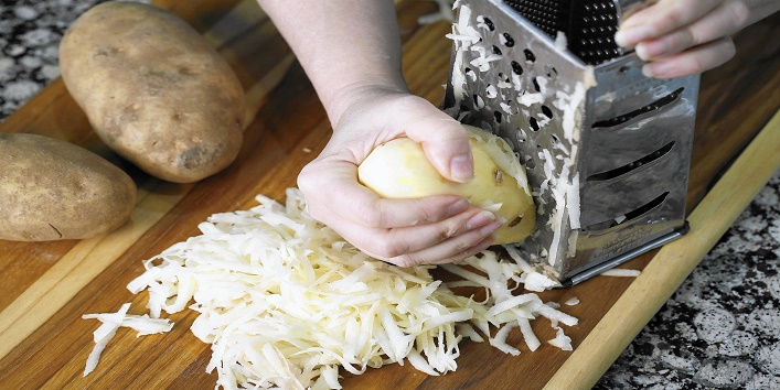 Grated-potatoes