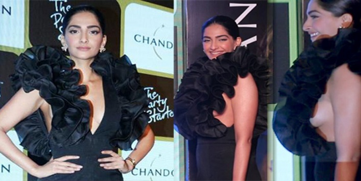 Sonam-Kapoor-While-Enjoying-A-Launch-Event
