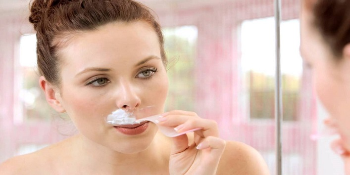 Remove Upper Lip Hair At Home