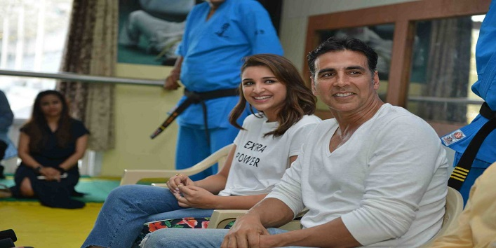 Akshay Kumar At His Martial Arts Academy For Women And Various Uncountable Charities