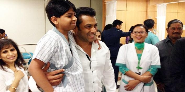 Salman Khan At His 'Being Human' Charity Foundation