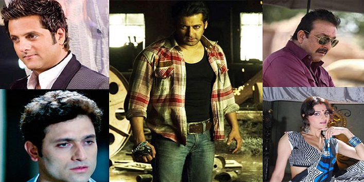 Bollywood stars got arrested