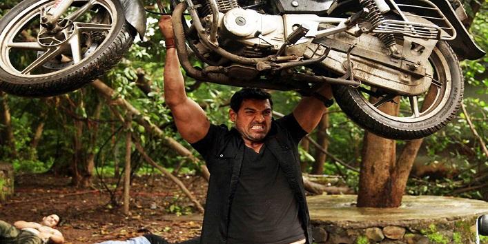 John Abraham For Motorbike Crash
