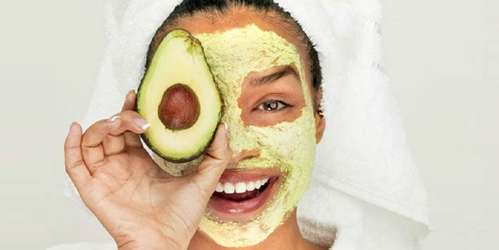 Avocado Mask for Healing and Moisturizing skin