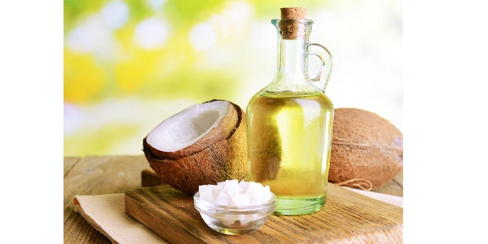 Coconut Oil massage for thicker and longer hair