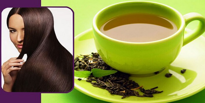 Soothe your hair with goodness of green tea