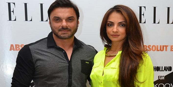 Sohail Khan and Seema Sachdev